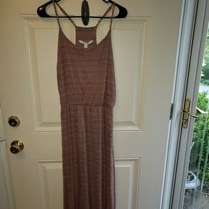 Lauren Conrad Striped Racerback Maxi Dress